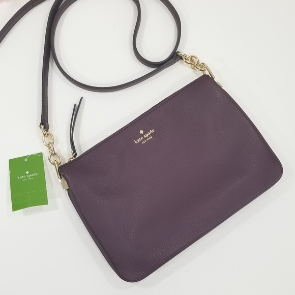 fc63614aa8 Kate Spade Madeline larchmont Avenue crossbody